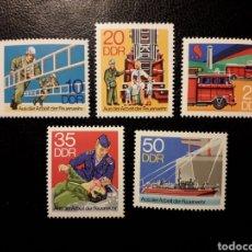 Sellos: ALEMANIA ORIENTAL DDR. YVERT 1946/50 SERIE COMPLETA NUEVA ***. SALVAMENTO. BOMBEROS.. Lote 195218221