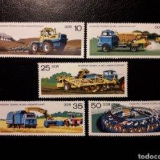 Sellos: ALEMANIA ORIENTAL DDR. YVERT 1911/5 SERIE COMPLETA NUEVA ***. AGRICULTURA Y GANADERÍA.. Lote 195223133