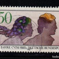Sellos: ALEMANIA 965 - AÑO 1982 - CENTENARIO DE LA ALIANZA UNIVERSAL DE JÓVENES CRISTIANOS. Lote 195305462