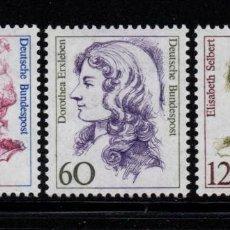 Sellos: ALEMANIA 1163/65** - AÑO 1987 - MUJERES DE LA HISTORIA DE ALEMANIA. Lote 195306258