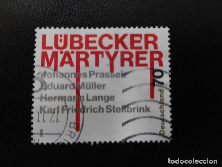 ALEMANIA 2018. 75TH ANNIVERSARY OF THE MARTYRS OF LUBECK. MI:DE 3417, SN:DE 3064, YT:DE 3195, (Sellos - Extranjero - Europa - Alemania)
