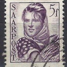 Sellos: SARRE 1948 - TRABAJADORES - SELLO USADO. Lote 195424258
