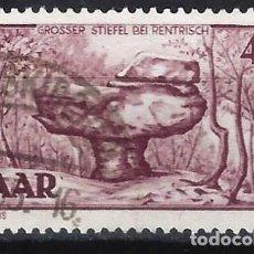 Sellos: SARRE 1951 - MOTIVOS LOCALES - SELLO USADO. Lote 195424483