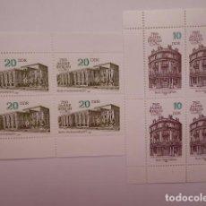 Francobolli: ALEMANIA DDR, 2 HOJITAS BQ. S/CH.1987 NUEVAS. Lote 195928541