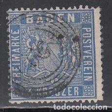 Sellos: BADEN, 1860 YVERT Nº 10 . Lote 196295628