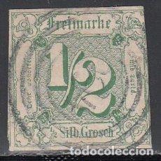 Sellos: TOUR ET TAXIS, 1859 YVERT Nº 8. Lote 196308917