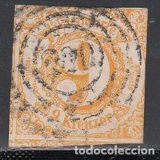 Sellos: TOUR ET TAXIS, 1859 YVERT Nº 39. Lote 196313678