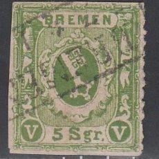 Sellos: BREMEN, 1861-64 YVERT Nº 9 . Lote 196340395
