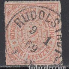 Sellos: ALEMANIA CONFEDERACIÓN DEL NORTE, 1868 YVERT Nº 8. Lote 196342855