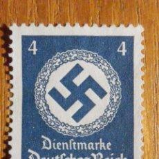 Sellos: SELLO ALEMANIA TERCER DEUTCHE REICH - HITLER - NACIONAL SOCIALISMO ALEMÁN, 1934 - ESVÁSTICA,IVERT 94. Lote 196379467