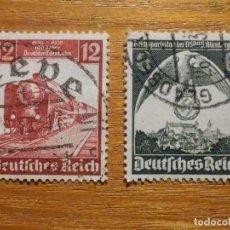 Sellos: SELLOS ALEMANIA TERCER DEUTCHE REICH - HITLER - NACIONAL SOCIALISMO ALEMÁN, 1935 -,IVERT 540, 545. Lote 196379970