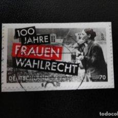 Sellos: ALEMANIA 2019. CENTENARY OF WOMEN'S SUFFRAGE IN GERMANY. MI:DE 3435, SN:DE 3077, YT:DE 3213 (514). Lote 211614894