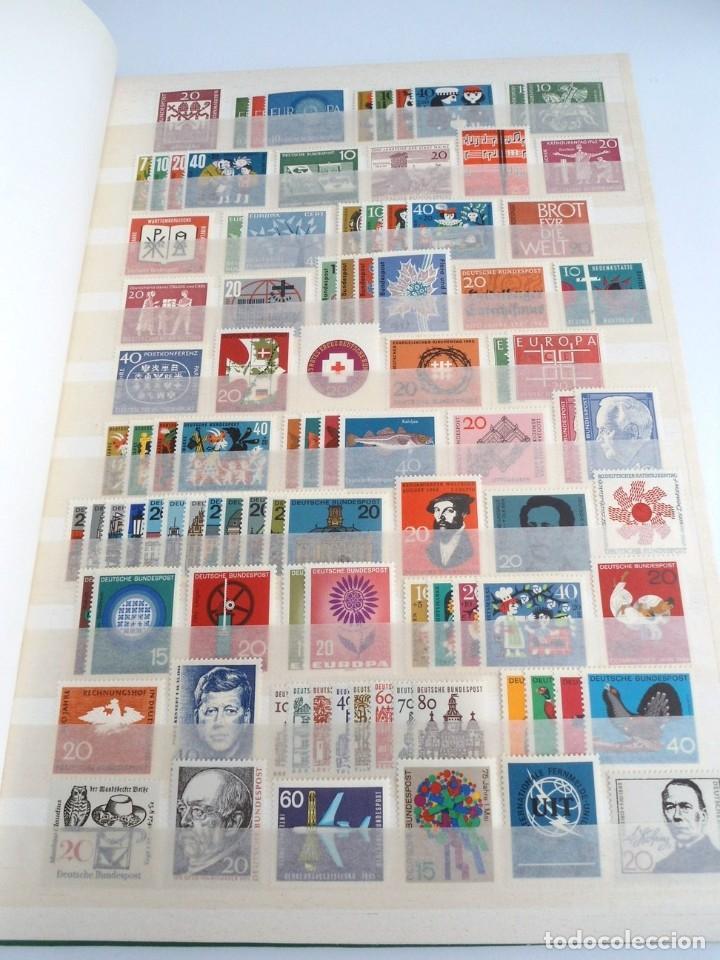 ALEMANIA FEDERAL AÑO 1963-77 - SERIES COMPLETAS - SIN FIJASELLOS (Sellos - Extranjero - Europa - Alemania)