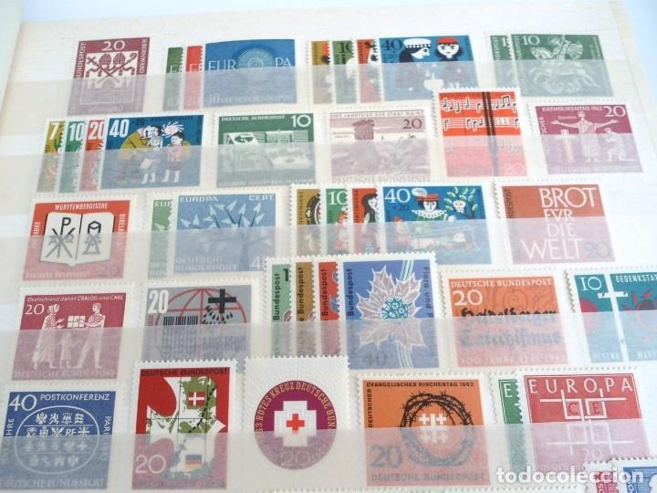 Sellos: ALEMANIA FEDERAL AÑO 1963-77 - SERIES COMPLETAS - SIN FIJASELLOS - Foto 4 - 197452248