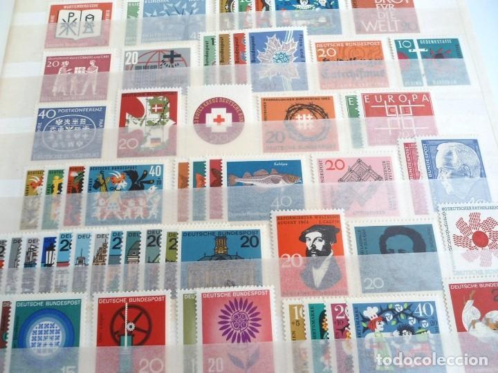 Sellos: ALEMANIA FEDERAL AÑO 1963-77 - SERIES COMPLETAS - SIN FIJASELLOS - Foto 5 - 197452248
