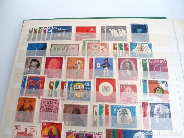 Sellos: ALEMANIA FEDERAL AÑO 1963-77 - SERIES COMPLETAS - SIN FIJASELLOS - Foto 7 - 197452248