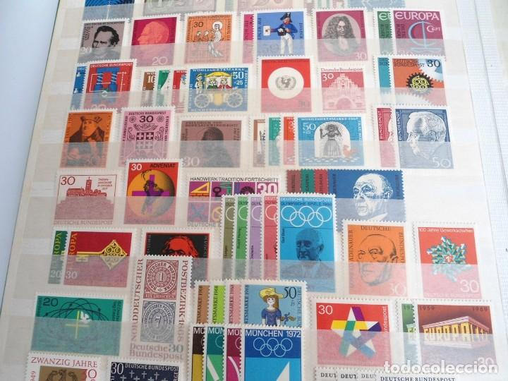 Sellos: ALEMANIA FEDERAL AÑO 1963-77 - SERIES COMPLETAS - SIN FIJASELLOS - Foto 8 - 197452248