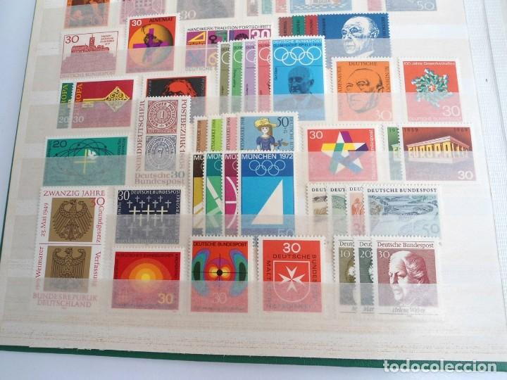 Sellos: ALEMANIA FEDERAL AÑO 1963-77 - SERIES COMPLETAS - SIN FIJASELLOS - Foto 9 - 197452248
