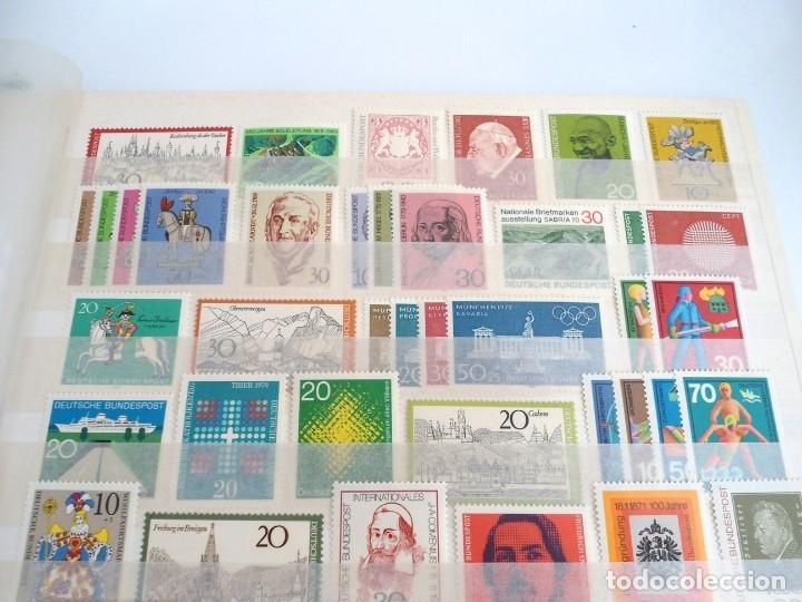 Sellos: ALEMANIA FEDERAL AÑO 1963-77 - SERIES COMPLETAS - SIN FIJASELLOS - Foto 10 - 197452248