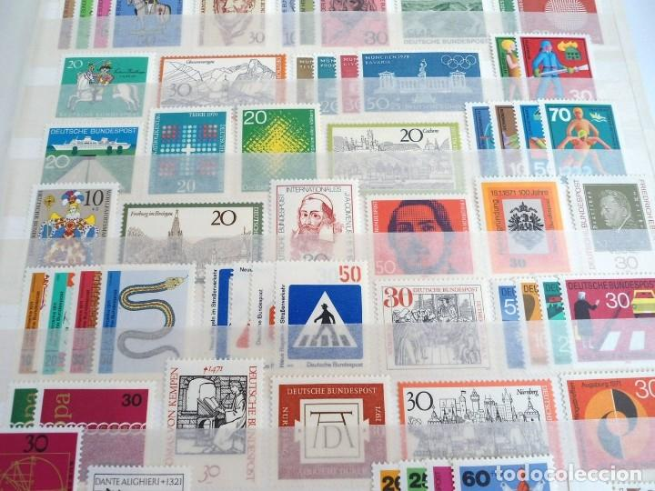 Sellos: ALEMANIA FEDERAL AÑO 1963-77 - SERIES COMPLETAS - SIN FIJASELLOS - Foto 11 - 197452248