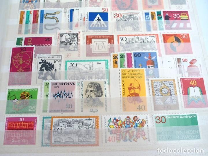 Sellos: ALEMANIA FEDERAL AÑO 1963-77 - SERIES COMPLETAS - SIN FIJASELLOS - Foto 12 - 197452248
