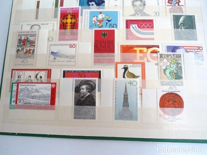Sellos: ALEMANIA FEDERAL AÑO 1963-77 - SERIES COMPLETAS - SIN FIJASELLOS - Foto 15 - 197452248