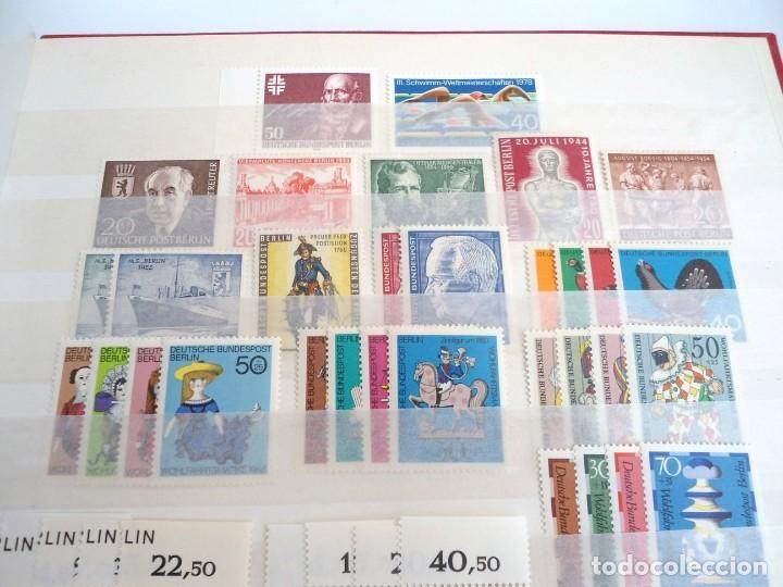Sellos: ALEMANIA BERLIN AÑO 1954-78 - 28 SERIES COMPLETAS - SERIES NUEVAS - Foto 2 - 197455625