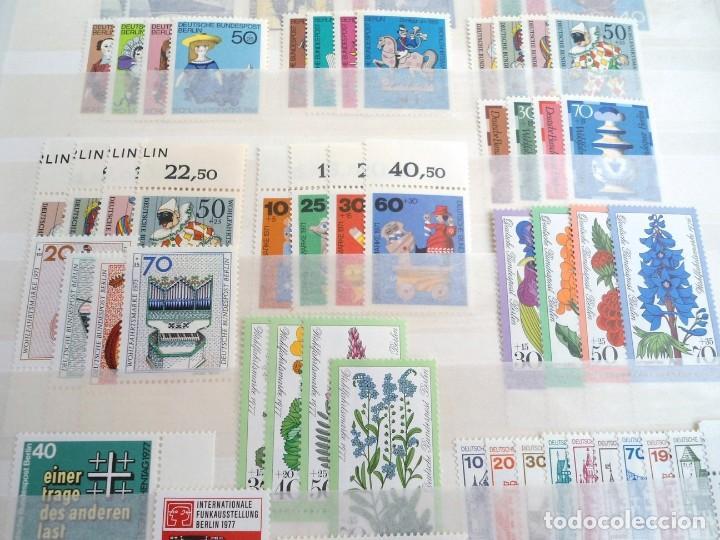 Sellos: ALEMANIA BERLIN AÑO 1954-78 - 28 SERIES COMPLETAS - SERIES NUEVAS - Foto 3 - 197455625