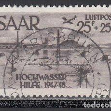 Sellos: SARRE, AÉREO 1948 YVERT Nº 12 . Lote 197477598