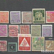 Timbres: 158G-LOTE SELLOS ALEMANIA OCUPACION SOVIETICA ALEMANIA AREA ZONA SOVIETICA.1945.. Lote 199309696
