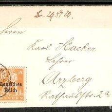 Sellos: ALEMANIA IMPERIO.1920. MI 142,120. Lote 199620756