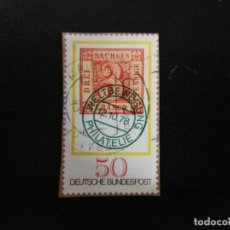 Sellos: ALEMANIA,1978. FIRST STAMP FROM SAXONY. YT:DE 828, (352). Lote 199672741