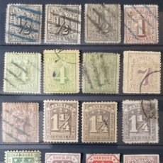 Sellos: COLECCIÓN DE SELLOS DE HAMBURGO. Lote 199682970