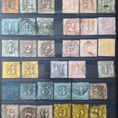 Sellos: COLECCIÓN DE SELLOS DE THURN & TAXIS (+ DE 3.000 € EN CATÁLOGO). Lote 199779183