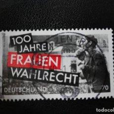 Sellos: ALEMANIA 2019. CENTENARY OF WOMEN'S SUFFRAGE IN GERMANY. MI:DE 3435,. Lote 213691200
