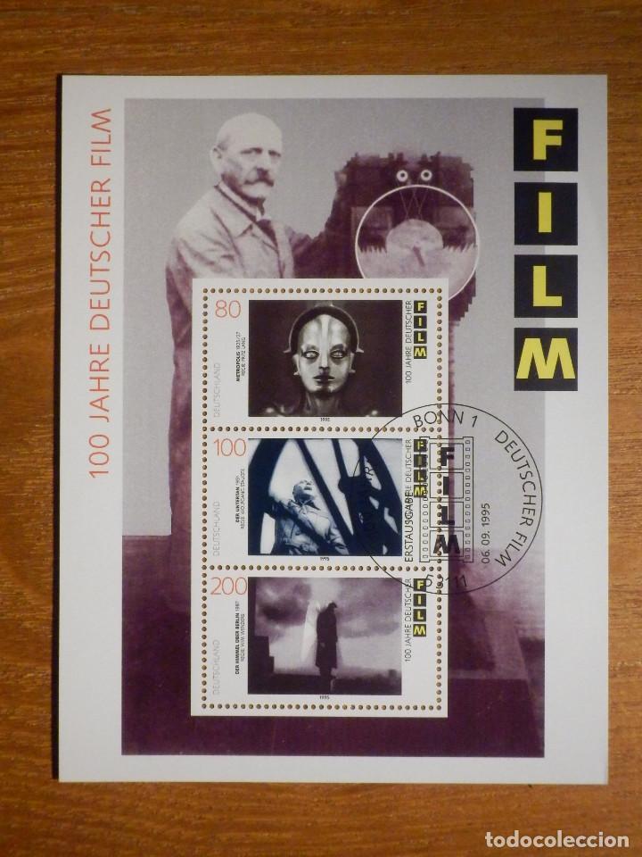 HOJITA - 100 AÑOS FILMS ALEMANES SELLO- 6-SEPTIEMBRE-1995 - ALEMANIA - (Sellos - Extranjero - Europa - Alemania)