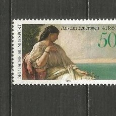 Timbres: ALEMANIA FEDERAL YVERT NUM. 881 ** SERIE COMPLETA SIN FIJASELLOS. Lote 204195388