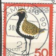 Sellos: ALEMANIA FEDERAL 1976 - PROTEJA LAS AVES - MI: 901. Lote 204824837