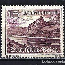 Timbres: 1939 ALEMANIA IMPERIO REICH MICHEL 736 YVERT 660 EDIFICIOS MNG* SIN GOMA SIN FIJASELLOS. Lote 205843570