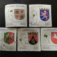 Sellos: ALEMANIA 1993. COAT OF ARMS OF THE FEDERAL STATES OF GERMANY. (2232). Lote 205854221