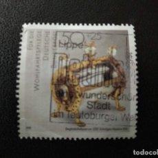 Sellos: ALEMANIA 1988. 13TH.CENTURY ROCK CRYSTAL RELIQUARY. MI:DE 1383, (2238). Lote 205856008