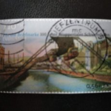 Sellos: ALEMANIA 2001. WUPPERTALER SCHWEBEBAHN. MI:DE 2171 (2241). Lote 205857852
