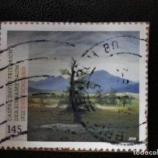 Sellos: ALEMANIA, 2019. LONELY TREE BY CASPAR DAVID FRIEDRICH. MI:DE 3433, (2244). Lote 205867646