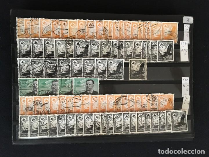 Sellos: ALEMANIA IMPERIO, 85 Fichas con miles de sellos y series en usado, MUY ALTO VALOR DE CATALOGO - Foto 31 - 206162580