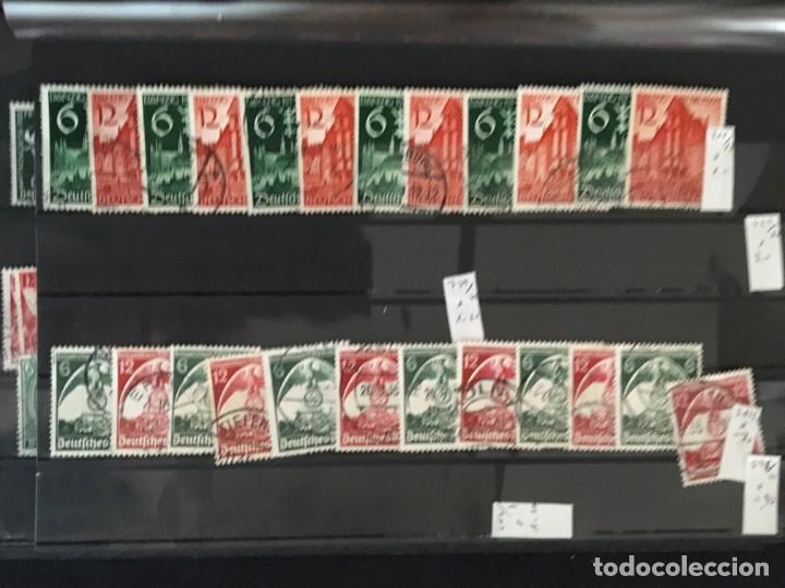 Sellos: ALEMANIA IMPERIO, 85 Fichas con miles de sellos y series en usado, MUY ALTO VALOR DE CATALOGO - Foto 49 - 206162580
