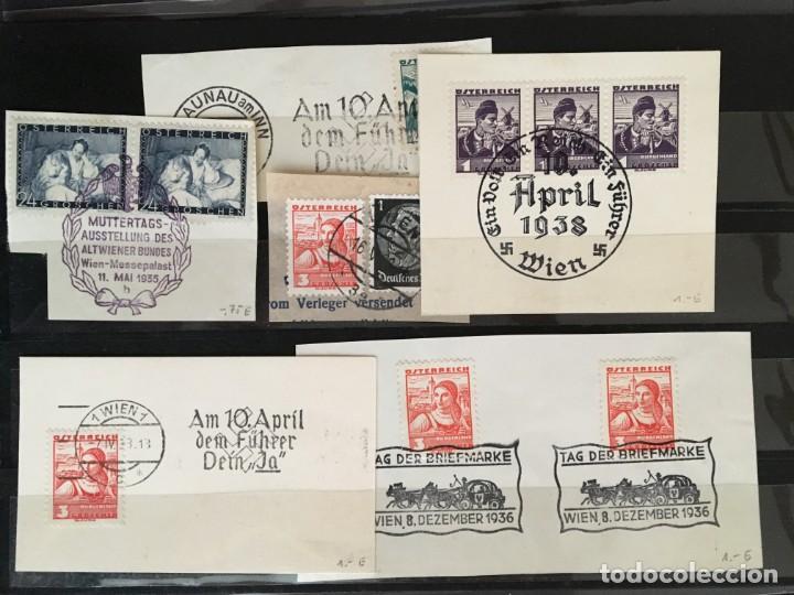 Sellos: ALEMANIA IMPERIO, 85 Fichas con miles de sellos y series en usado, MUY ALTO VALOR DE CATALOGO - Foto 79 - 206162580