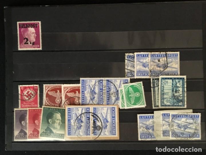 Sellos: ALEMANIA IMPERIO, 85 Fichas con miles de sellos y series en usado, MUY ALTO VALOR DE CATALOGO - Foto 83 - 206162580