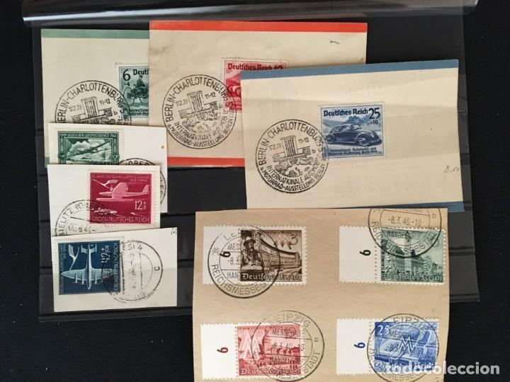 Sellos: ALEMANIA IMPERIO, 85 Fichas con miles de sellos y series en usado, MUY ALTO VALOR DE CATALOGO - Foto 85 - 206162580