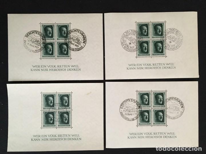 Sellos: ALEMANIA IMPERIO, 85 Fichas con miles de sellos y series en usado, MUY ALTO VALOR DE CATALOGO - Foto 86 - 206162580