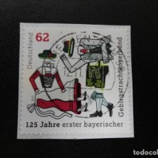 Sellos: ALEMANIA 2015. 125TH ANNIV. OF THE 1ST BAVARIAN MOUNTAIN COSTUMES ASSN. MI:DE 3159, (81). Lote 206298267